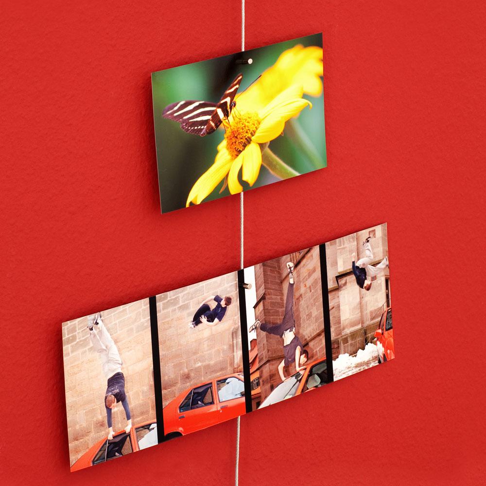 Fotoseil fotohalter magnetisch zur foto dekoration - Foto dekoration ...